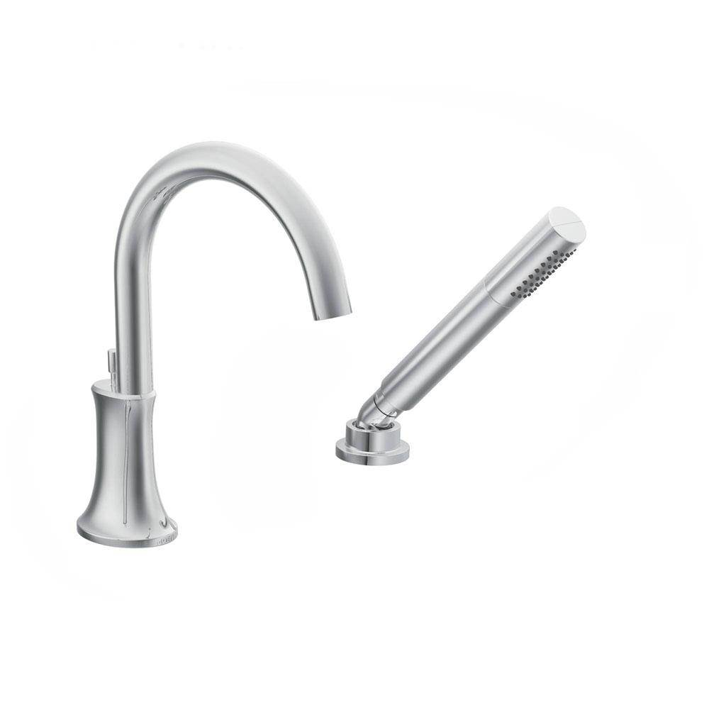 356 21    666 98  TS9622   Moen  Icon Spout With Hand  Bathroom Faucets   Bathworks Instyle   Montclair California. Moen Roman Tub Faucet With Hand Shower. Home Design Ideas