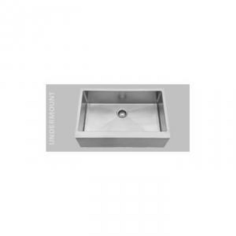 $1,704.00. 1290U · Oliveri; 33x21 Large Single Bowl Apron Sink; Stainless  Steel ...