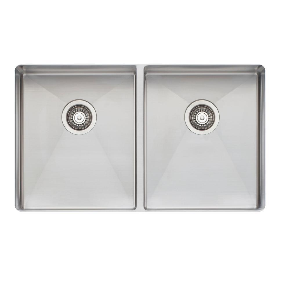 Oliveri Kitchen Sinks Undermount Sonetto 1000 Steel | Bathworks ...